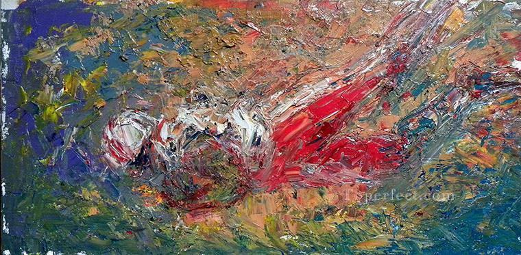 football 02 impressionist Oil Paintings