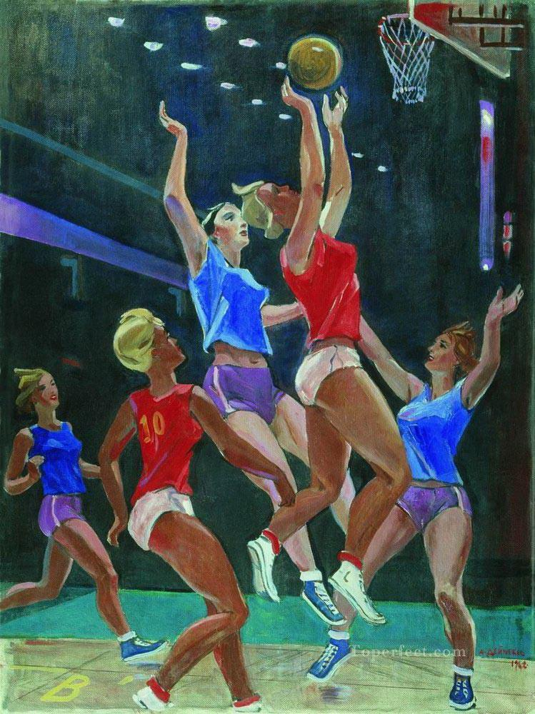 basketball 10 impressionist Oil Paintings