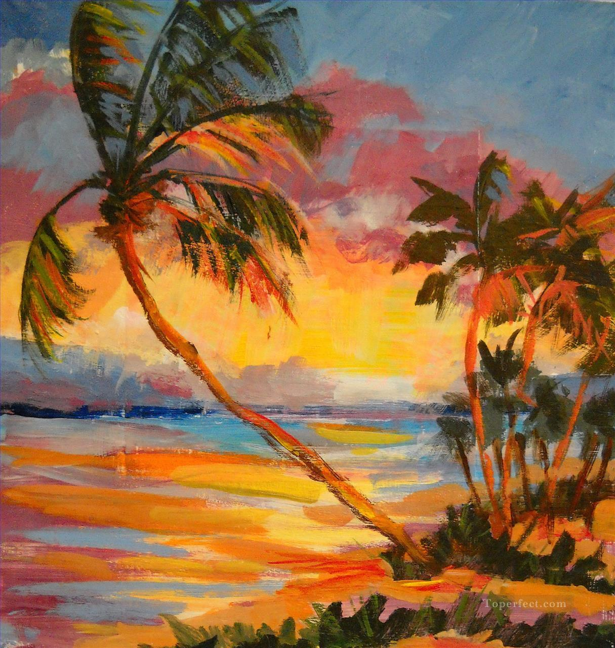 Florida Sunset Oil Paintings