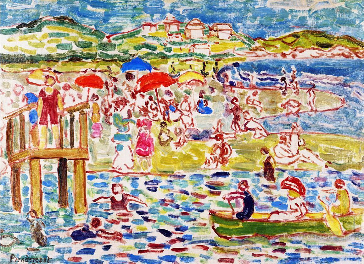 Bathers Maurice Prendergast Oil Paintings