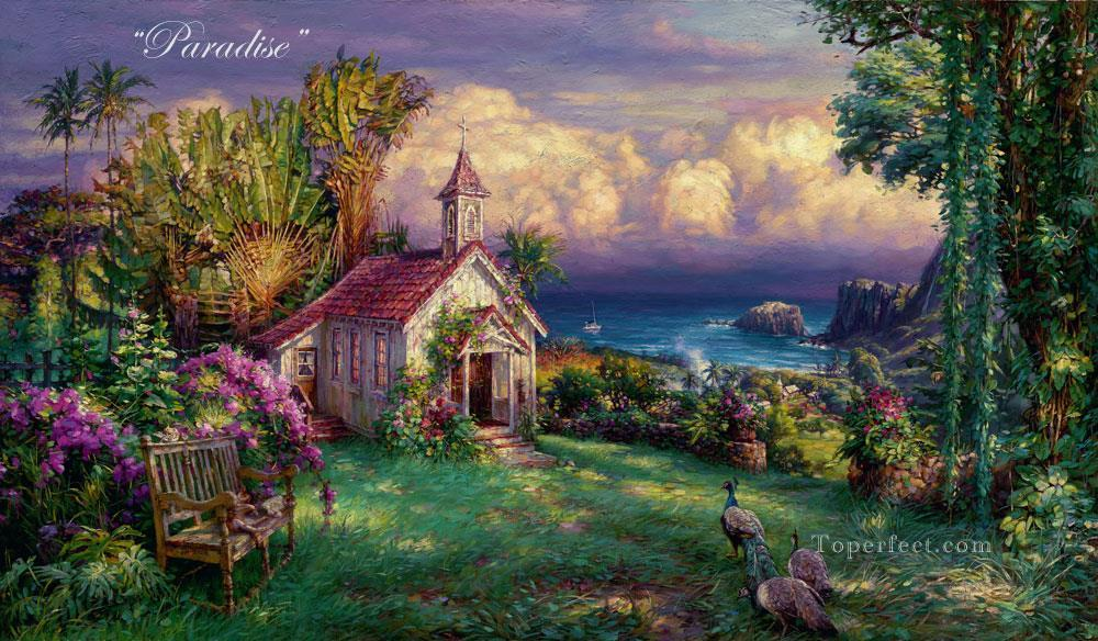 Paradise Oil Paintings