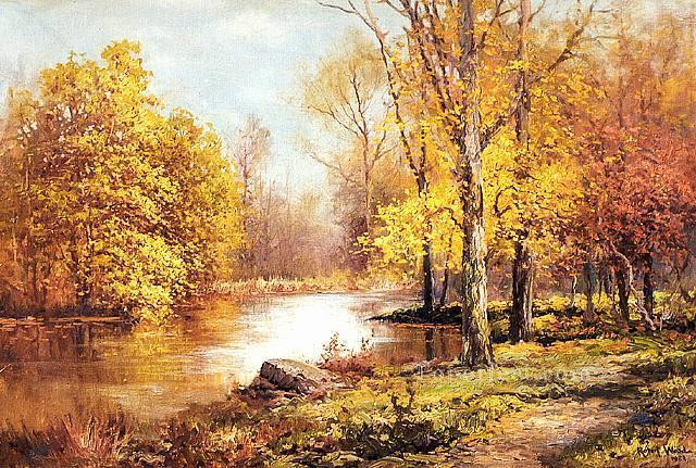 is675B impressionism outdoor scene river Oil Paintings