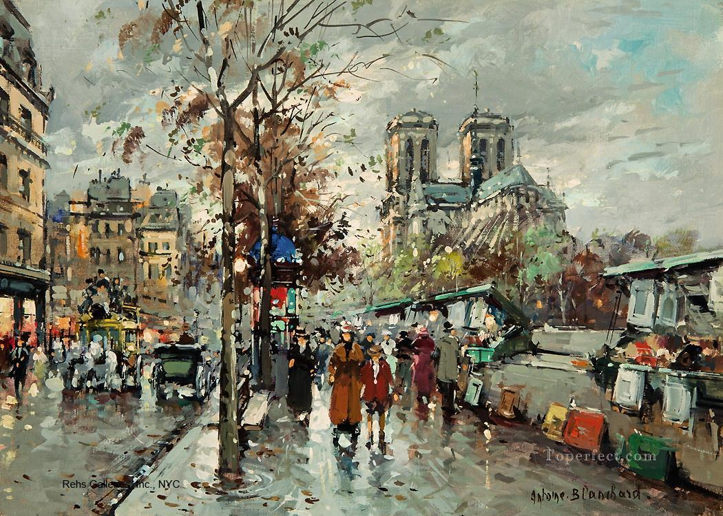 Notre Dame Paintings For Sale