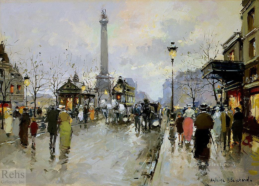 AB place de la bastiile 1 Paris Oil Paintings