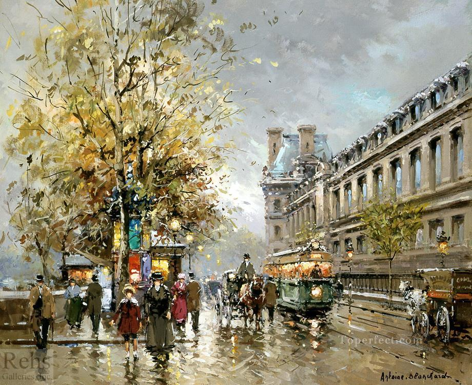 AB porte st denis 7 Parisian Oil Paintings
