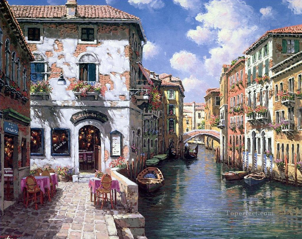 YXJ182aB Venice scenes Oil Paintings