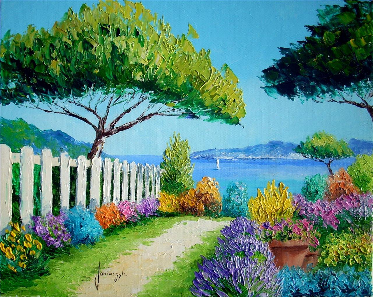 Garden Paintings for Sale