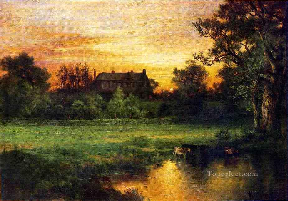 Easthampton landscape Thomas Moran Oil Paintings