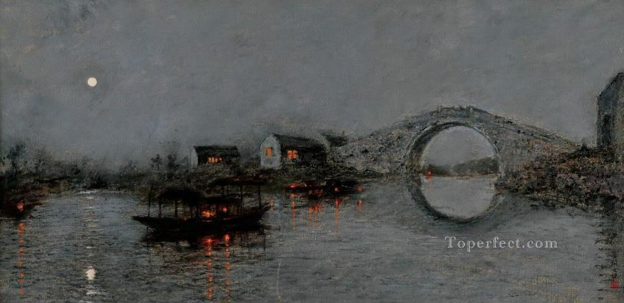 Feng Bridge Yan Wenliang Landscapes from China Oil Paintings