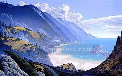xdf017aE modern landscape mountains.JPG Oil Paintings