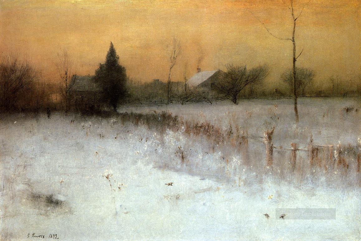 Home at Montclair landscape Tonalist George Inness Oil Paintings