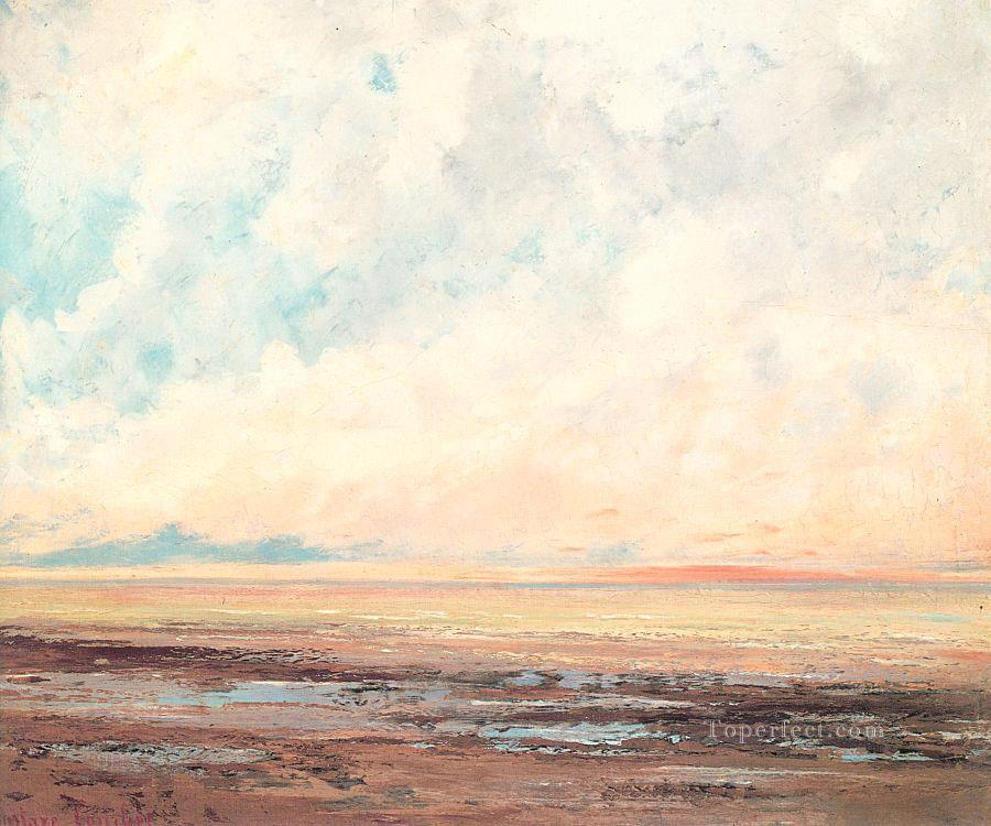 Marine CGF landscape Gustave Courbet Oil Paintings