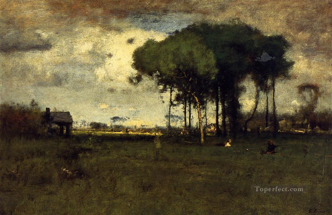 Georgia Pines Afternoon landscape Tonalist George Inness Oil Paintings