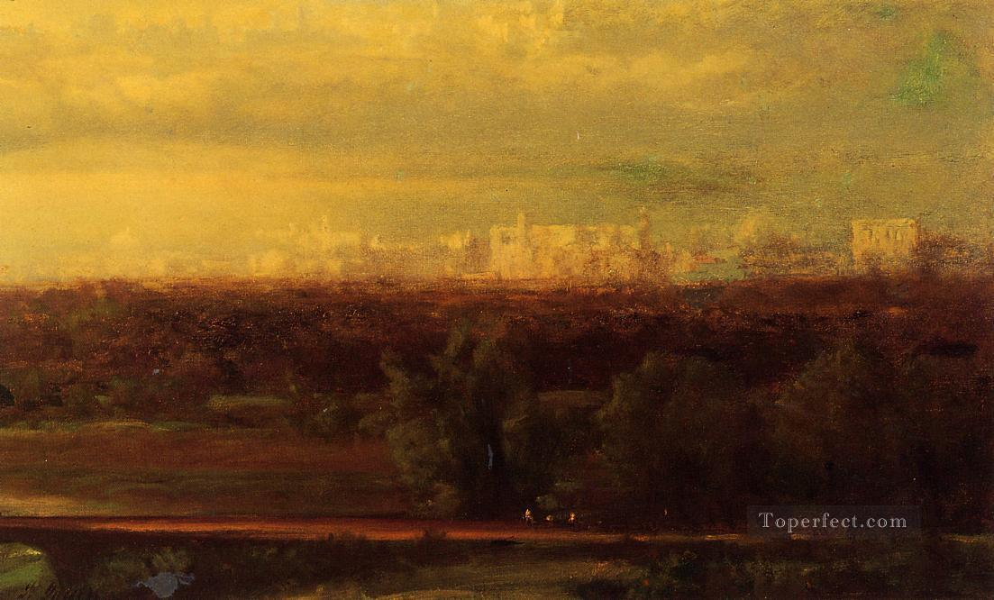 Visionary Landscape landscape Tonalist George Inness Oil Paintings