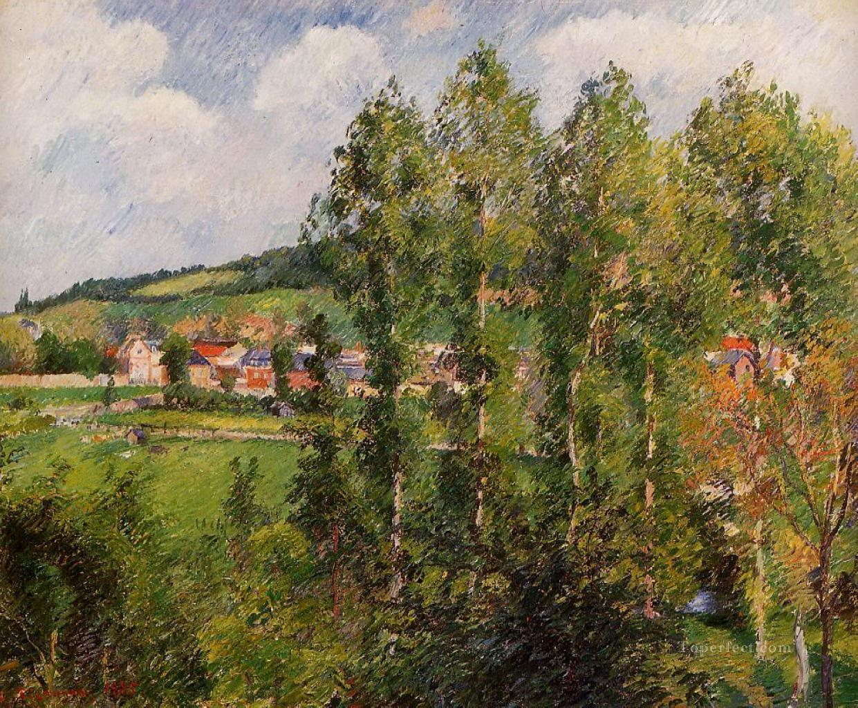 gizors new section Camille Pissarro scenery Oil Paintings