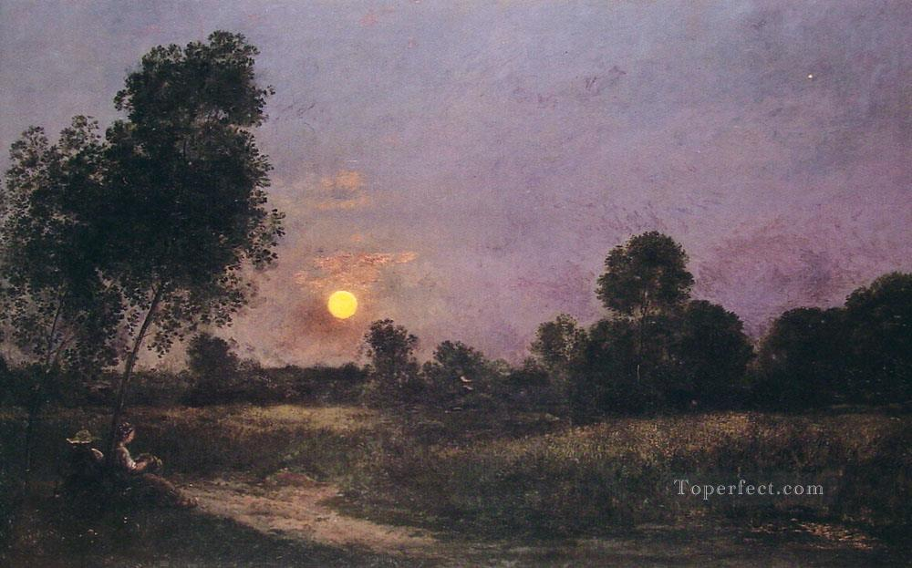 unknown Barbizon Impressionism landscape Charles Francois Daubigny Oil Paintings