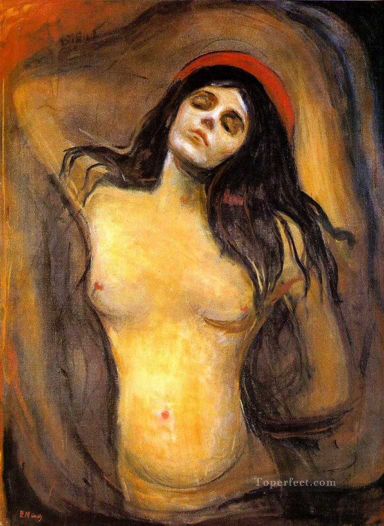madonna 1894 Abstract Nude Oil Paintings