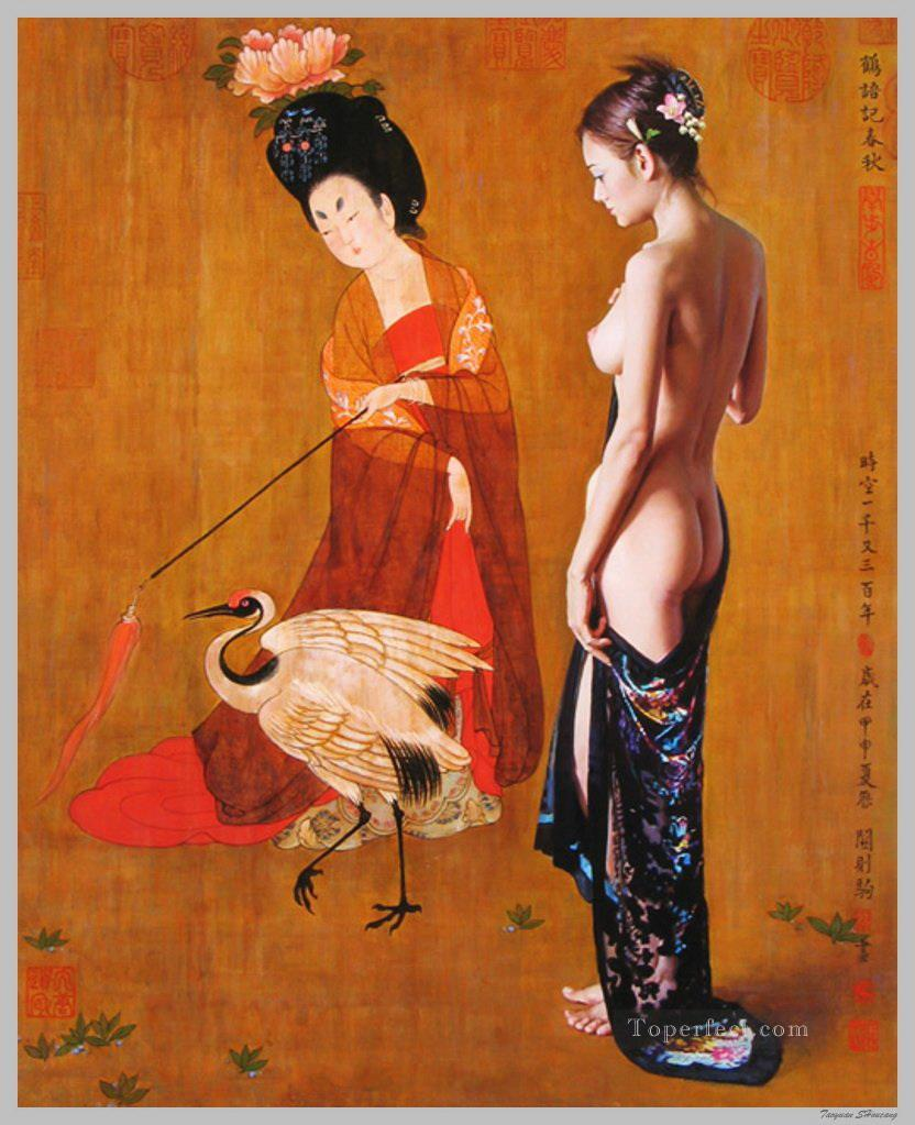 Guan ZEJU 28 Chinese girl nude Oil Paintings
