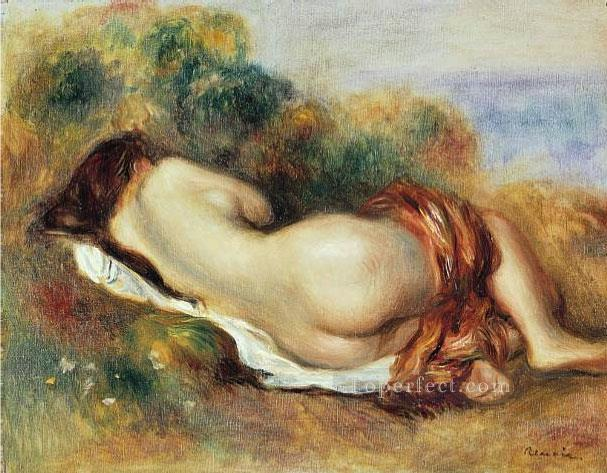reclining nude 1890 Pierre Auguste Renoir Oil Paintings