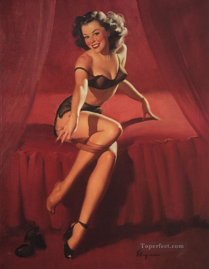 e0cd917b613 Gil Elvgren pin up 12 Painting in Oil for Sale