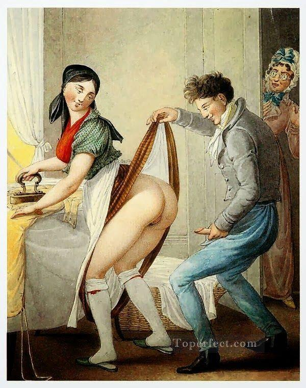 NO MEMORY Georg Emanuel Opiz caricature Sexual Oil Paintings