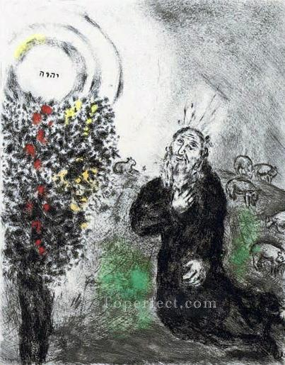The Burning Bush MC Jewish Oil Paintings