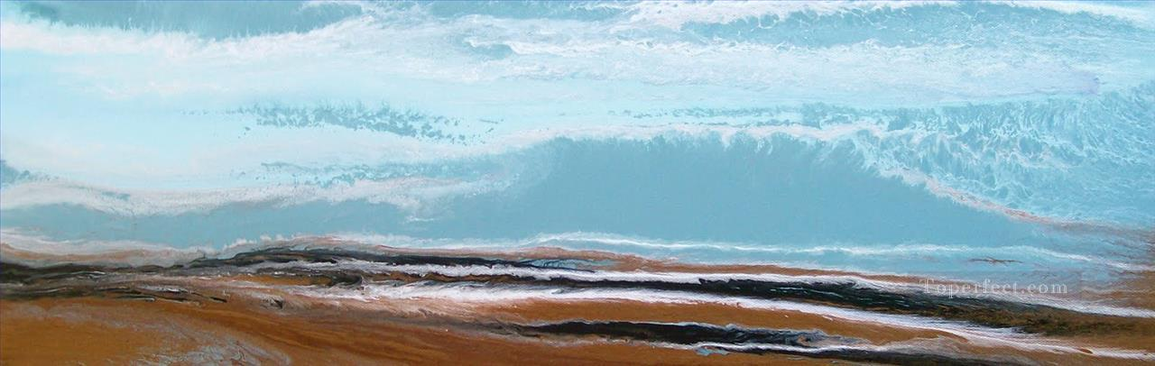 Incoming abstract seascape Oil Paintings