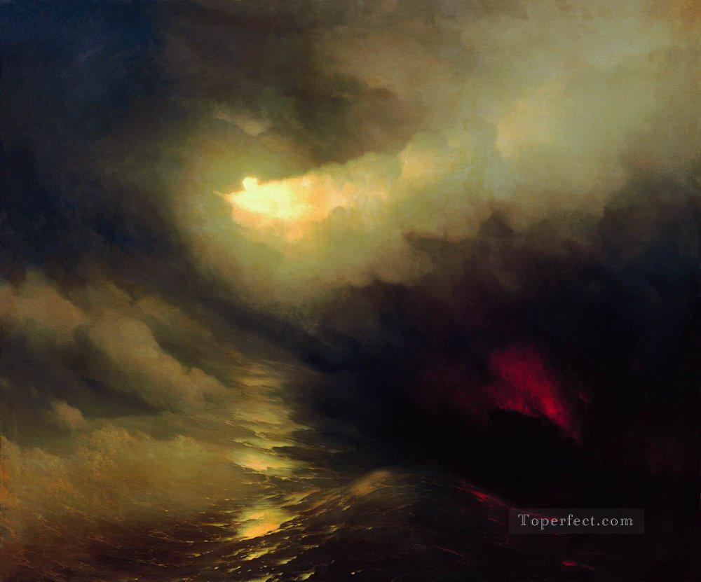 Ivan Aivazovsky creation of the world Seascape Oil Paintings