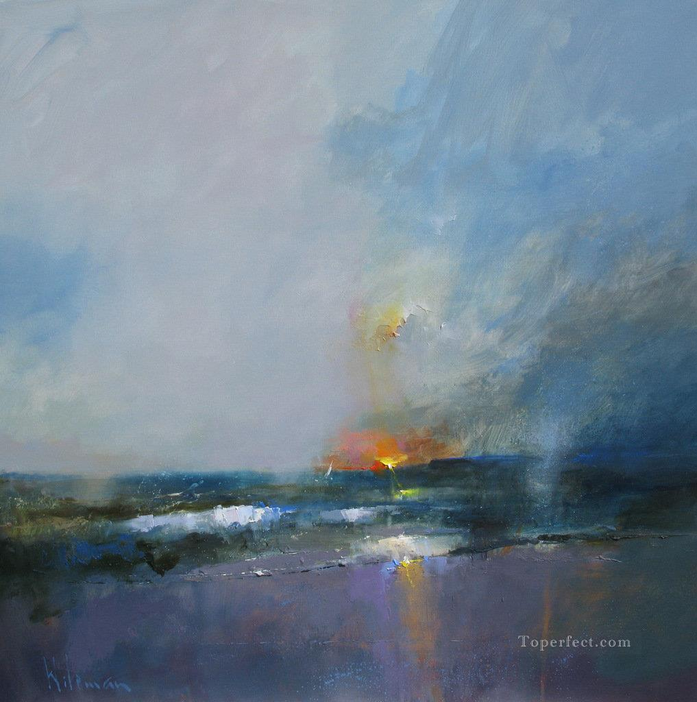 abstract seascape 020 Oil Paintings