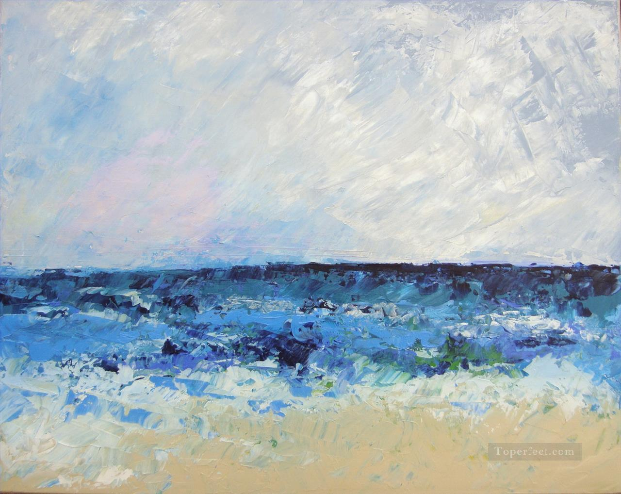 abstract seascape 099 Oil Paintings