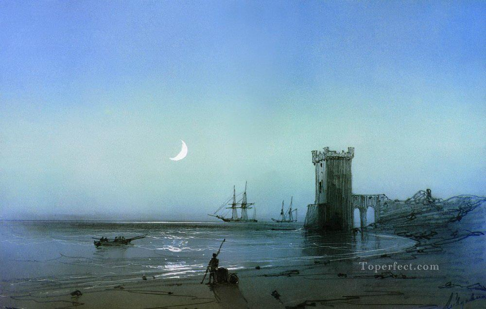 Ivan Aivazovsky seascape seashore Oil Paintings