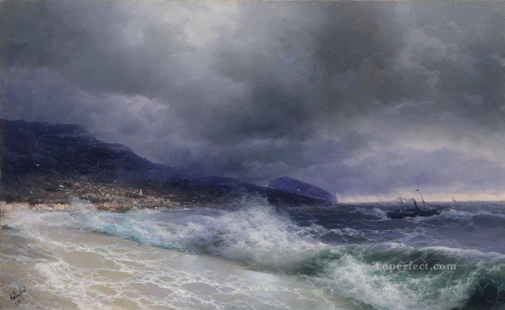 Ivan Aivazovsky yalta Seascape Oil Paintings