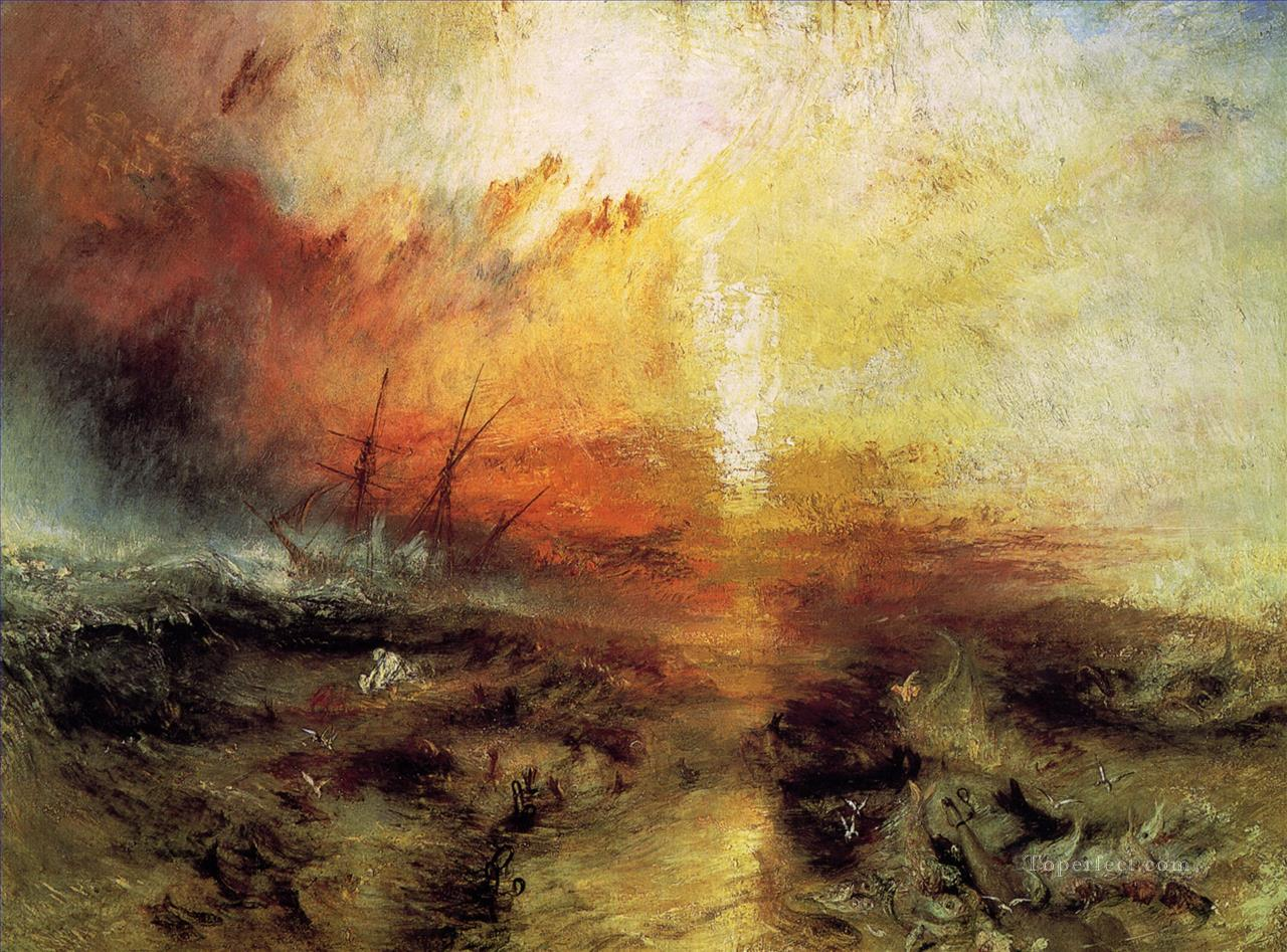 Turner The Slave Ship seascape Oil Paintings