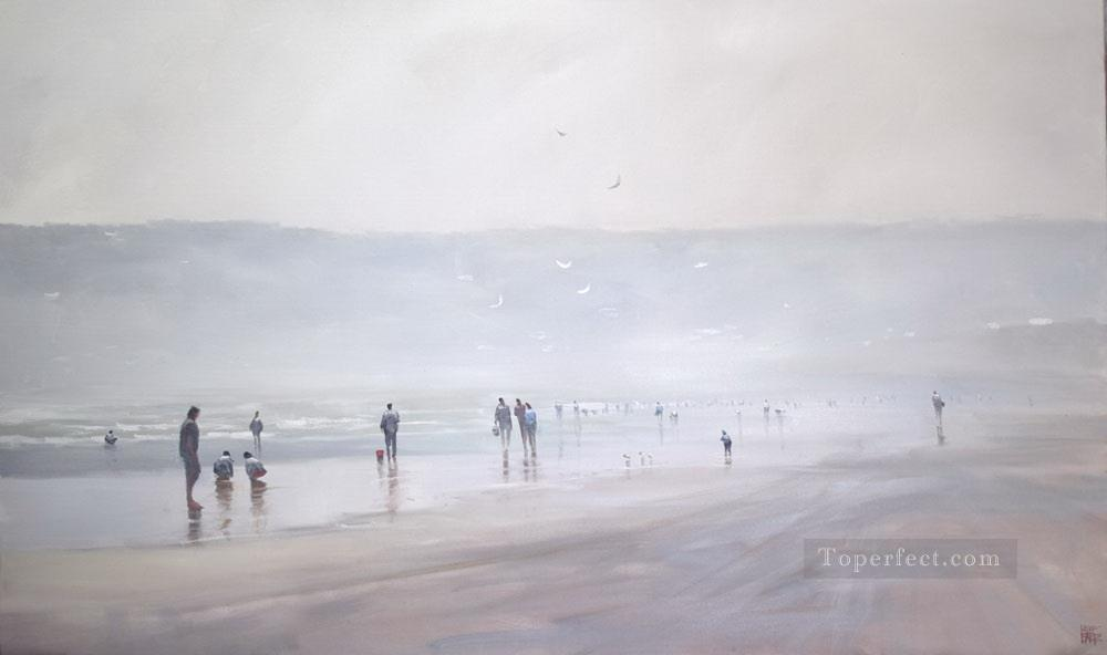 cocking Mist abstract seascape Oil Paintings