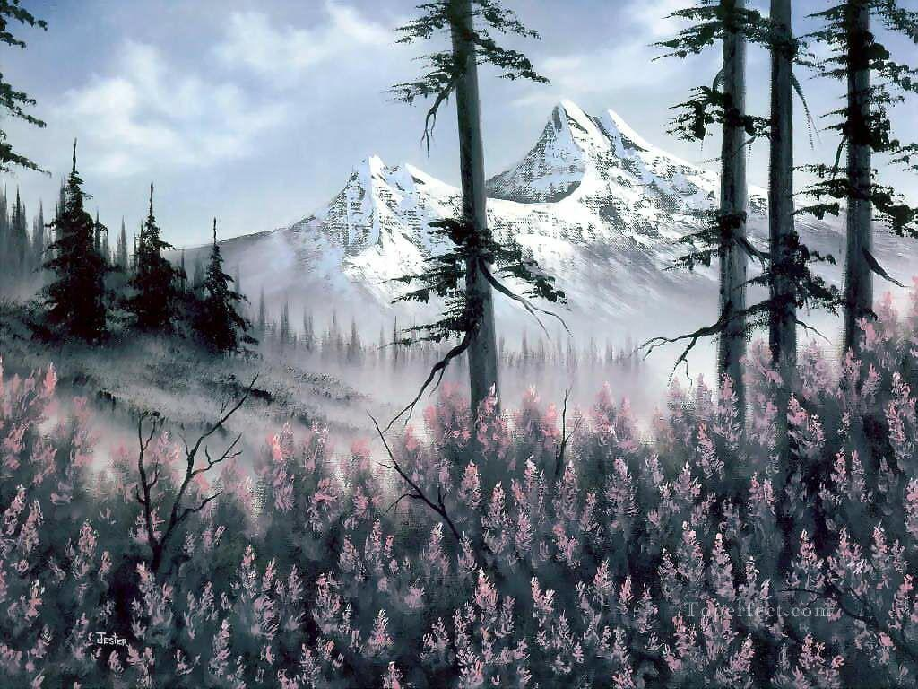 bob ross 19 Bob Ross freehand landscapes Oil Paintings