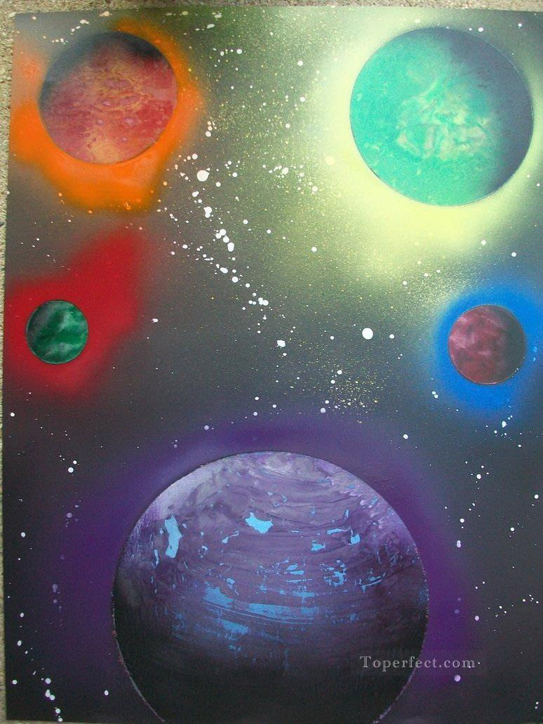 spray art 43 Oil Paintings