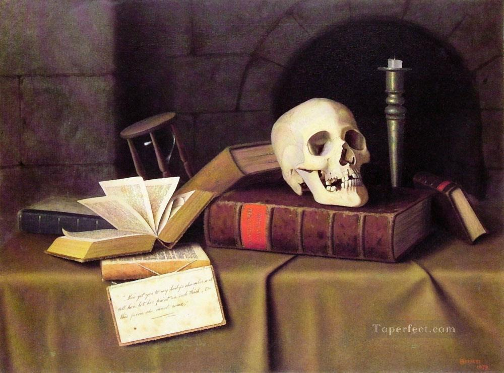 Memento Mori William Harnett still life Oil Paintings