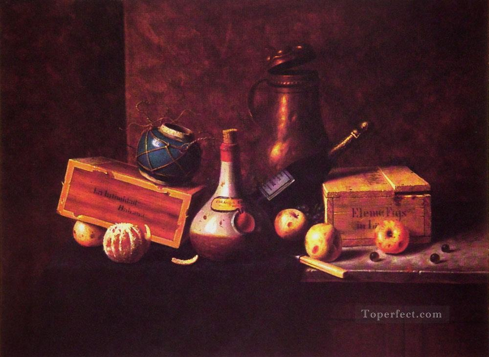 Still Life 1884 William Harnett Oil Paintings