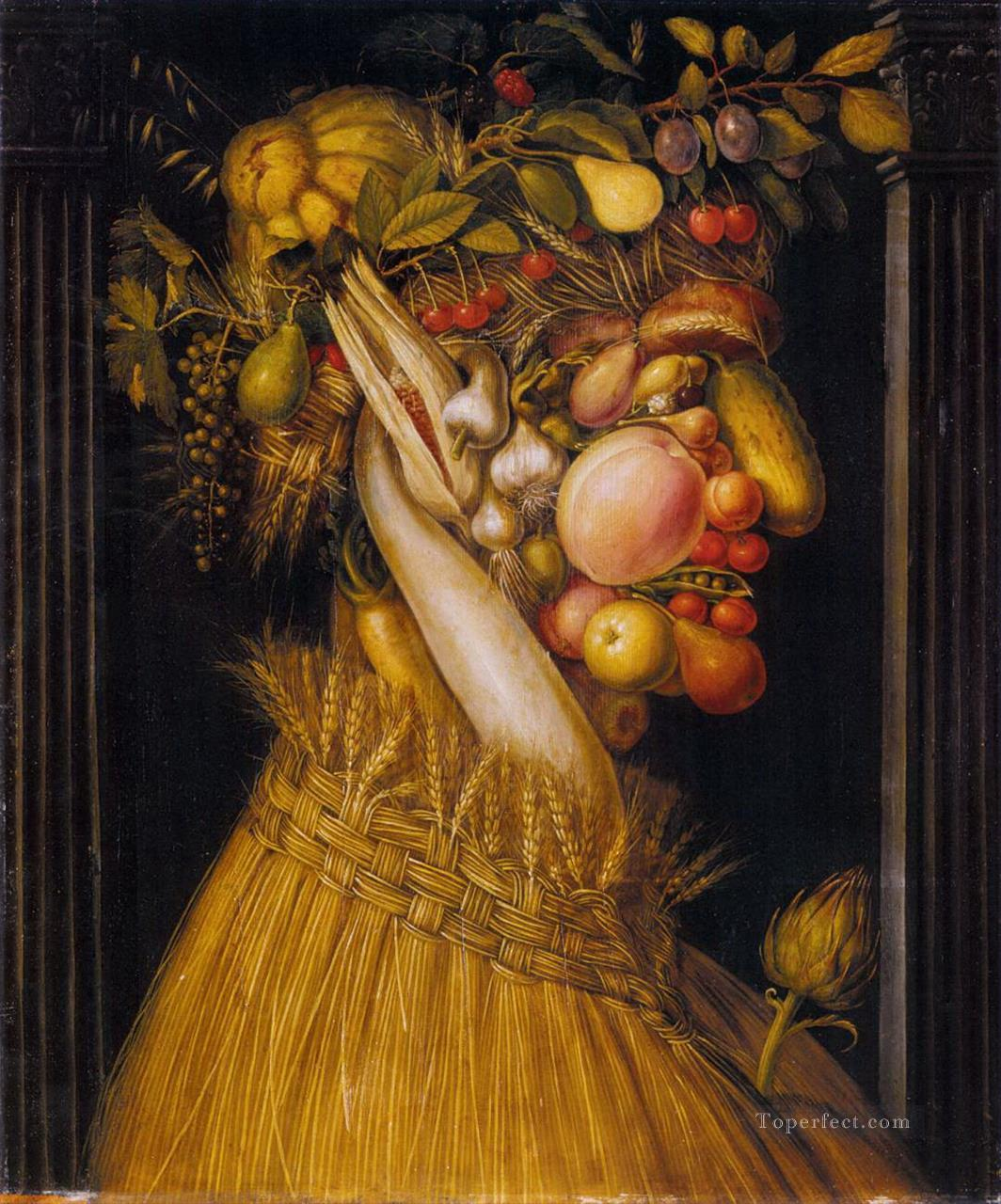Summer Giuseppe Arcimboldo Classic still life Oil Paintings