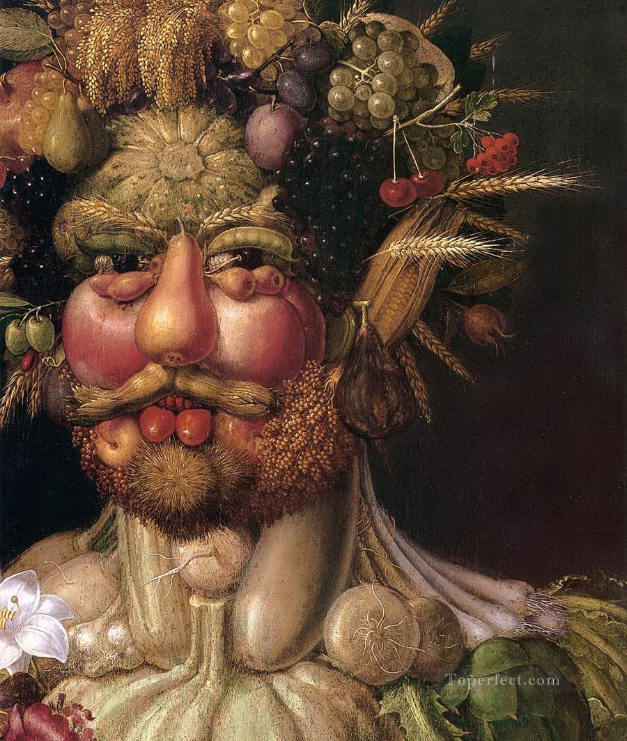 Vertemnus Giuseppe Arcimboldo Classic still life Oil Paintings