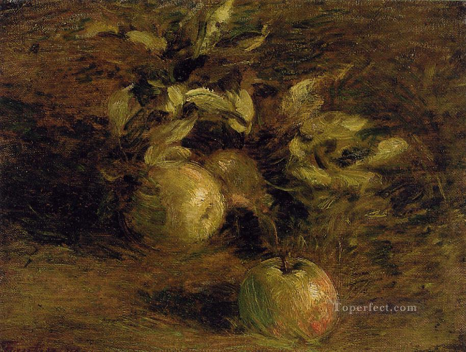 Apples Henri Fantin Latour still lifes Oil Paintings