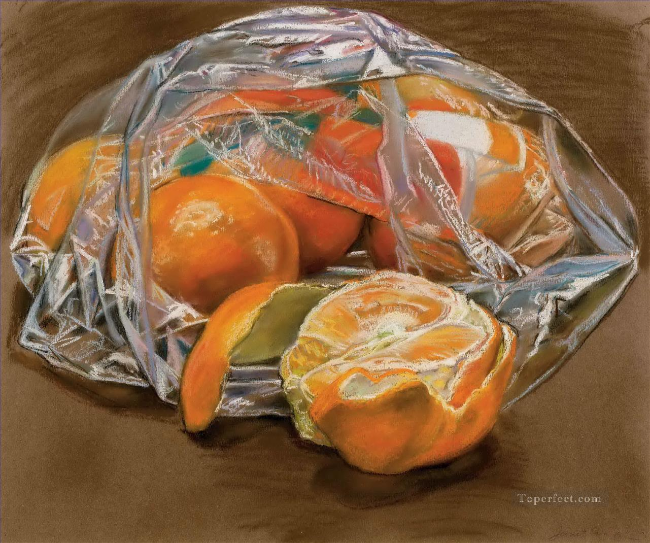 oranges JF realism still life Oil Paintings