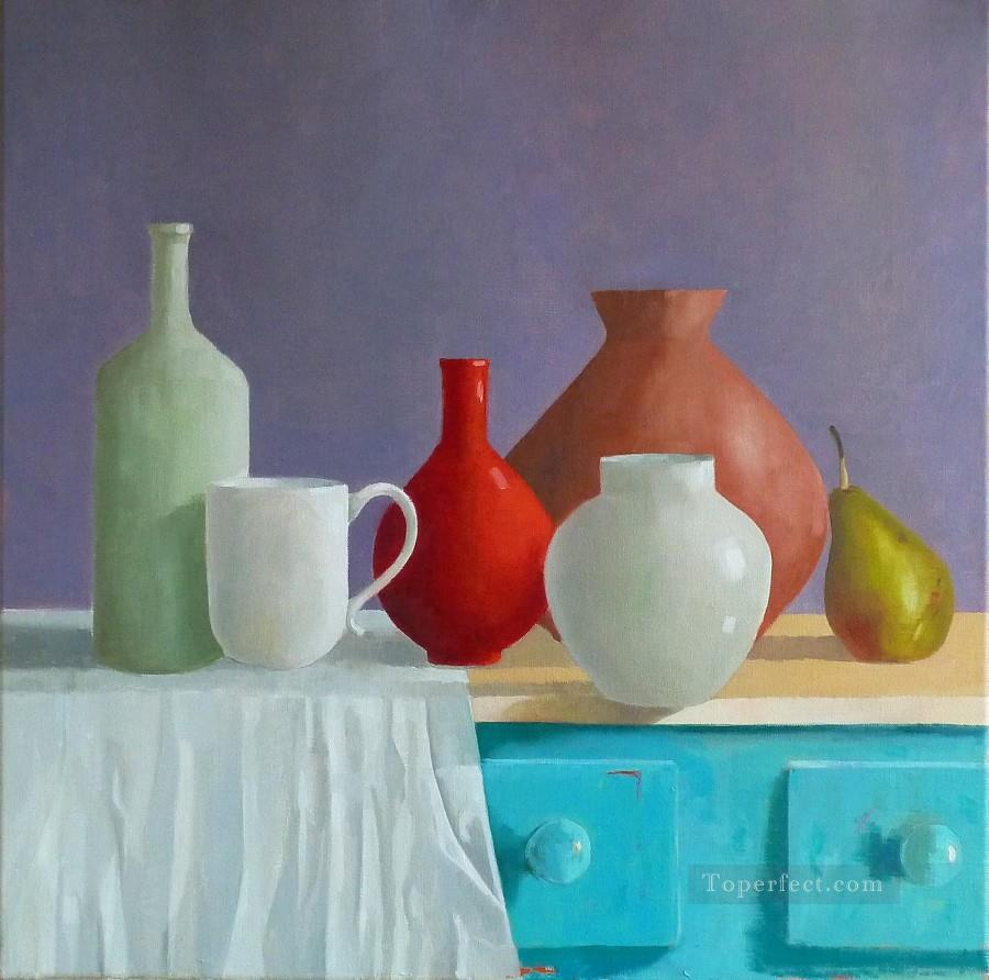 Purple Still Life Oil Paintings