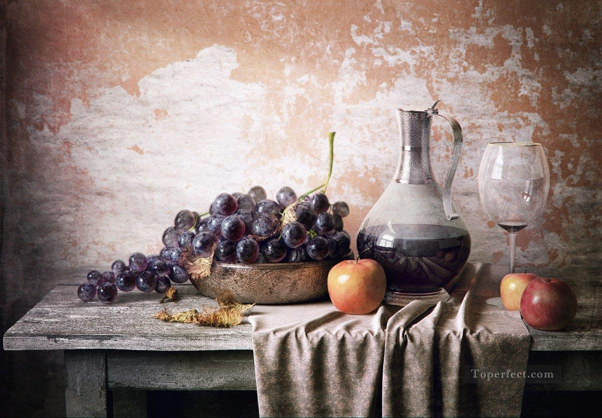 jw108bB realism still life Oil Paintings