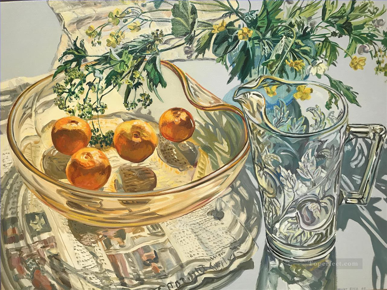 glass ware JF realism still life Oil Paintings