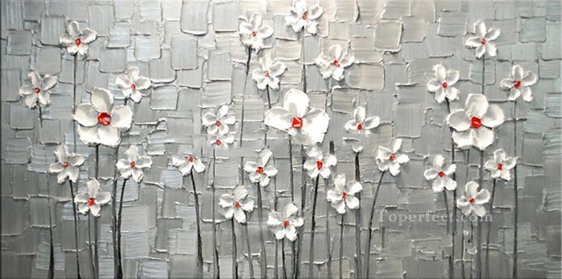 White flowers 3d texture painting in oil for sale white flowers 3d texture oil paintings mightylinksfo Gallery