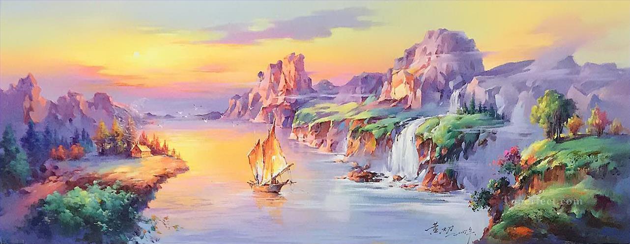 Art 3D 761 180x70cm USD240 Oil Paintings