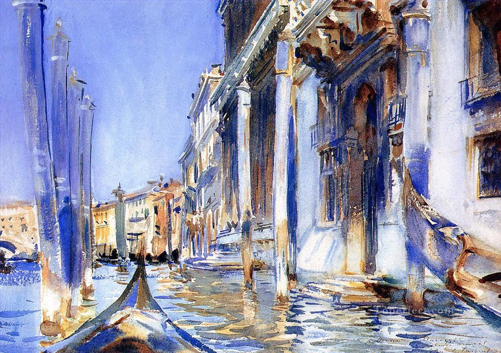 Rio dellAngelo John Singer Sargent watercolor Oil Paintings